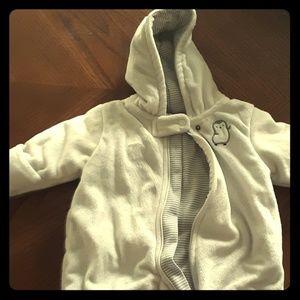 Newborn winter coat